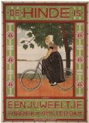 Vintage Dutch cycle poster - Hidden gem